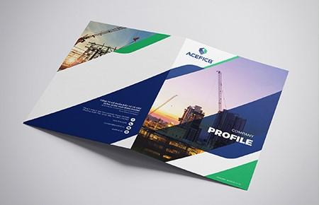 Thiết kế Profile Công ty CP Đầu tư XD ACEFIC8 Thái Bình Dương
