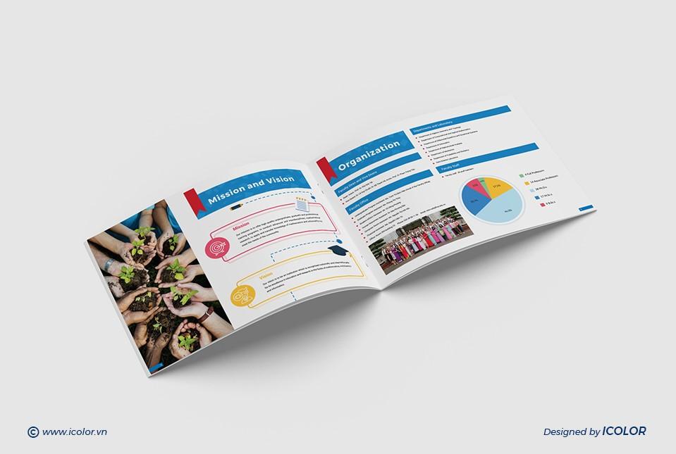 Thiết kế profile Trường Đại học Khoa học Tự nhiên