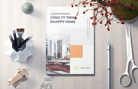 Thiết kế Profile Công ty TNHH Dhappy Home