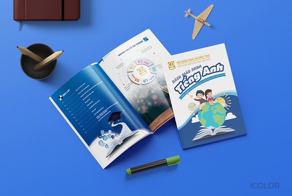 Thiết kế Sách giáo khoa Tiếng Anh