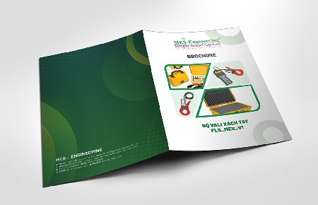 Thiết kế Brochure Công ty Mes Engineering