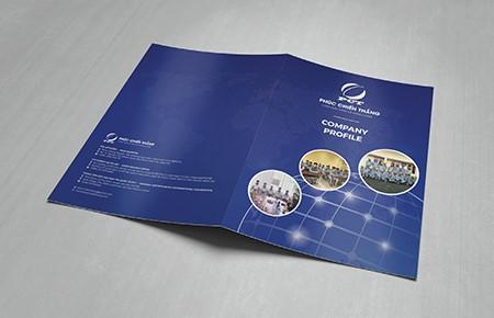 Thiết kế profile Công ty Phúc Chiến Thắng