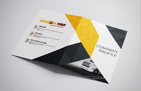 Thiết kế profile Công ty Saigon Tire