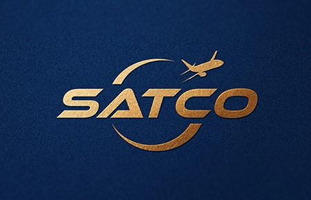 Thiết kế logo Công ty Hàng không Miền Nam (Satco)