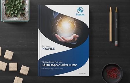 Thiết kế profile Viện NCPT Lãnh Đạo Chiến Lược Sleader