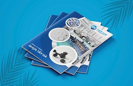 Thiết kế profile Công ty Nhựa Tây Hà
