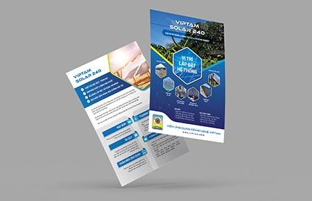 Thiết kế Brochure Công ty VIPTAM