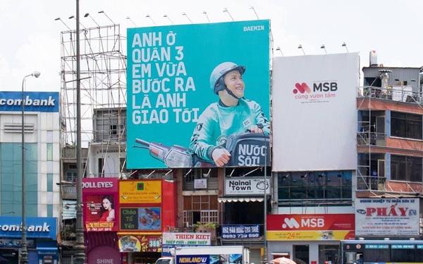 """Chiến lược Marketing của Baemin nhờ """" biển quảng cáo ngoài trời"""" ?"""