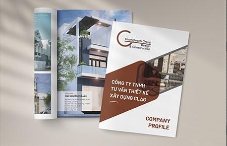 Thiết kế profile Công ty Tư vấn Thiết kế Xây dựng CLAG