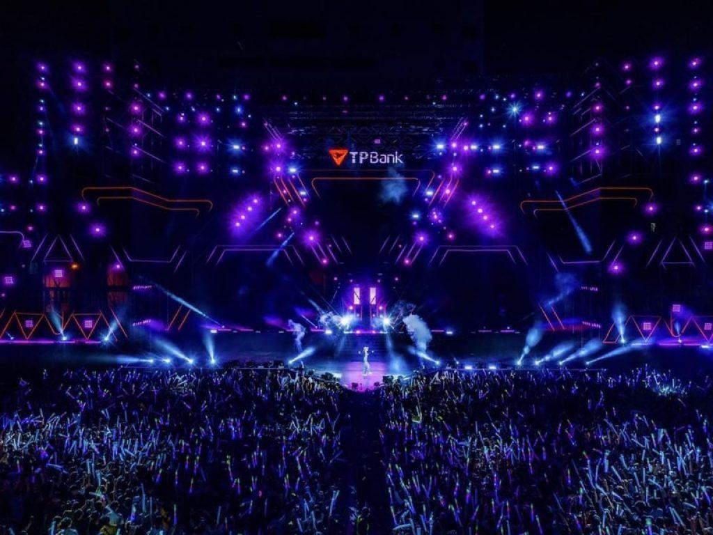 Đại nhạc hội thành công rực rỡ của TPBank. Ảnh: Fanpage TPBank