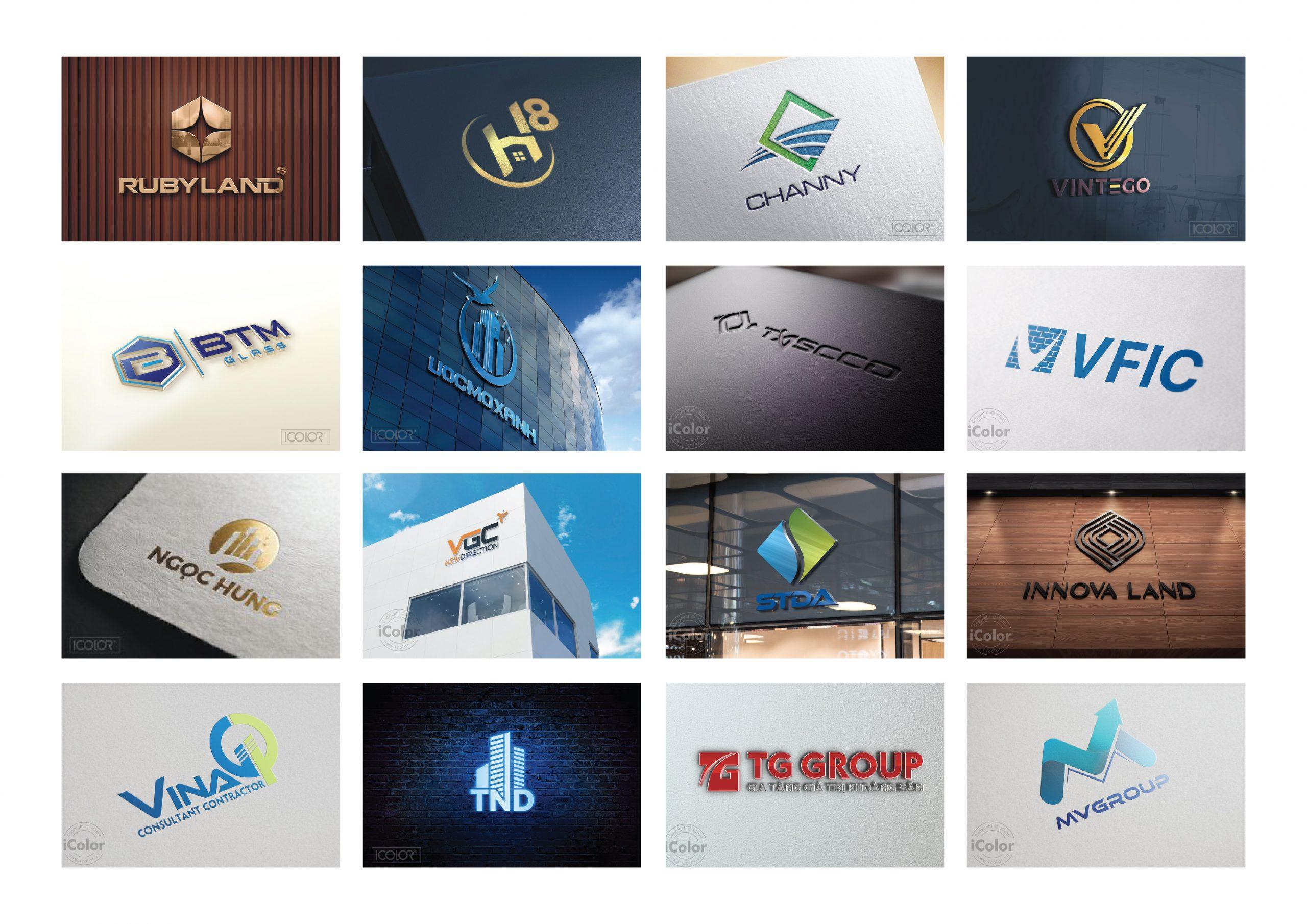 50+ Mẫu Logo Xây Dựng Đẹp, Chuyên Nghiệp Tham Khảo Ngay